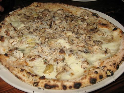 Cremini Mushroom Real Neapolitan Pizza