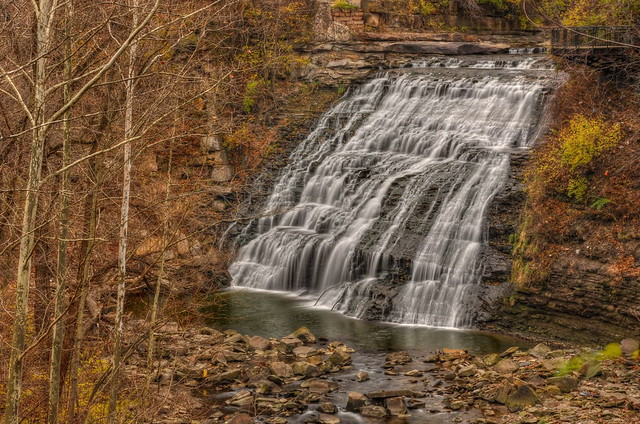 Mill Creek Falls - Garfield Park Reservation.
