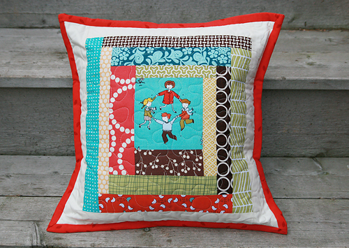 Little Apples Pillow
