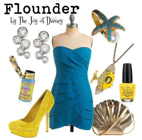 Inspired by: Flounder -- Little Mermaid