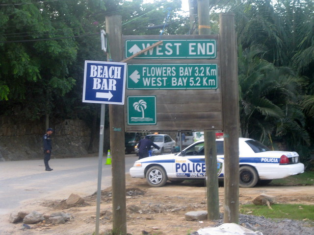 west end police point roatan