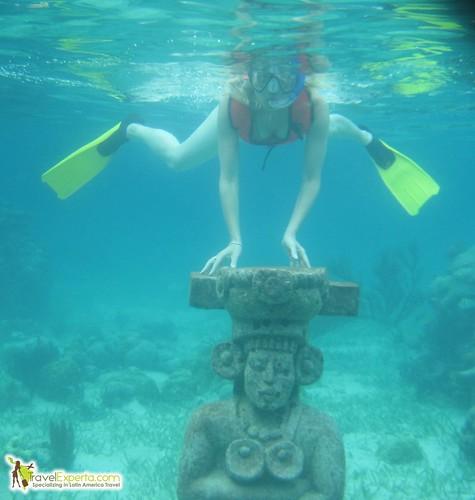 underwater artifacts roatan museum