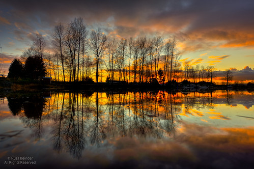 sunset canada reflection silhouette river bc handheld hdr pittmeadows allouetteriver harrisrd 1424mmf28g 1424mmf28 photomatixpro41 pittmeadowspaddlingclub