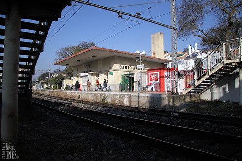 Estação Ferróviaria de Santo Amaro by Luís Miguel Inês | Fotografia