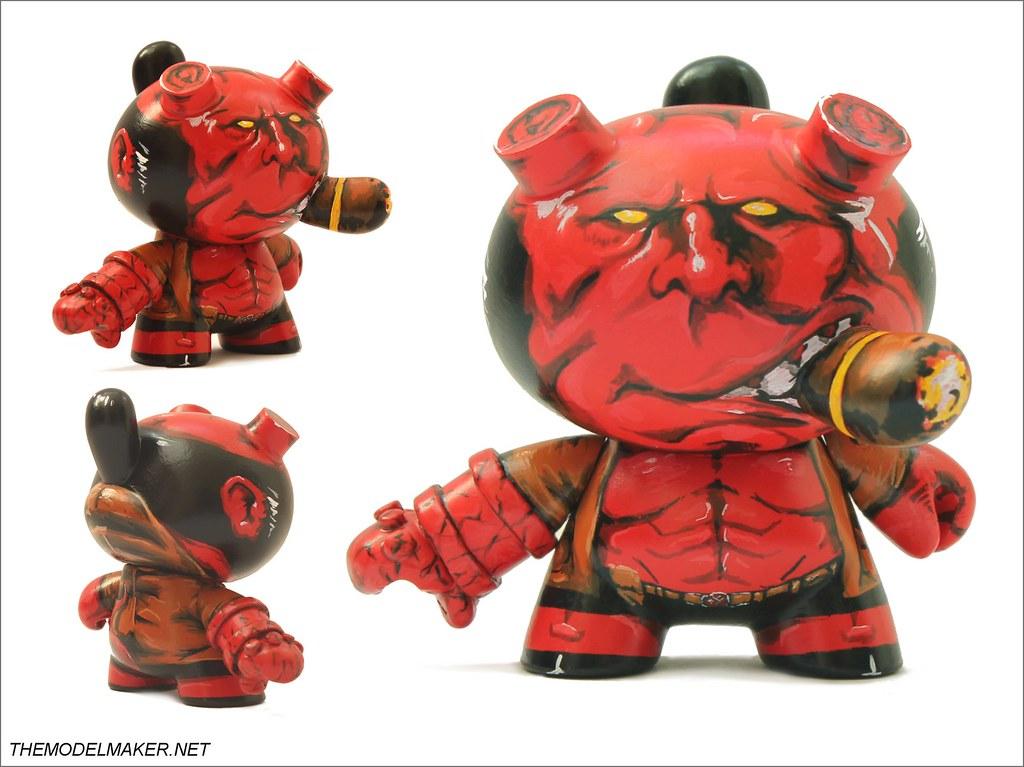 Hellboy dunny 1