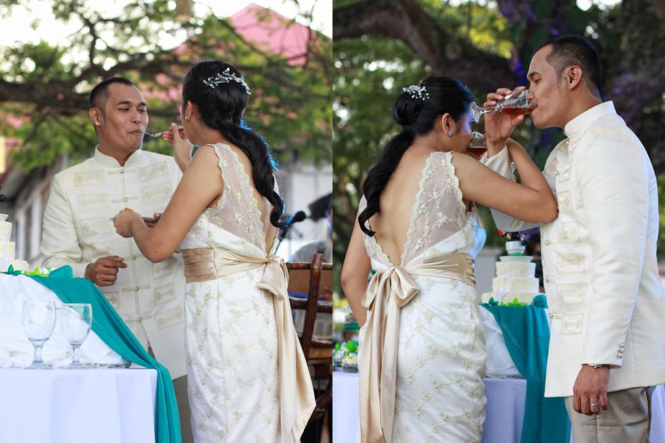 Cafe Lawis Wedding, Bohol Wedding Photographer