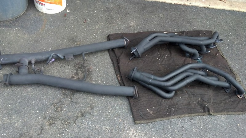for sale fs mac long tube headers 4 6 2v and mac o r h pipe 4 6 2v ford mustang forums. Black Bedroom Furniture Sets. Home Design Ideas