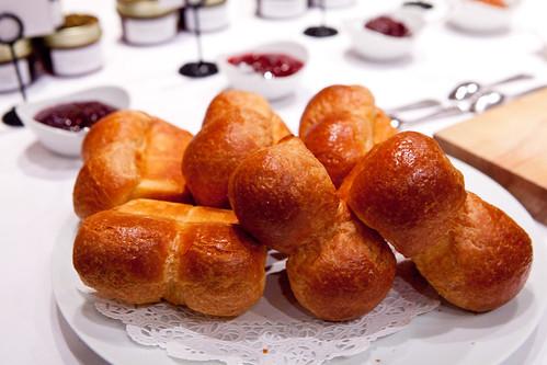 Brioche rolls with Sunchowder Emporia's jams
