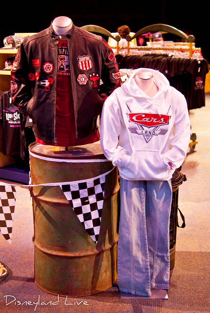 Cars Land / Buena Vista Street AP Merchandise Showcase - Cars Land Apparel