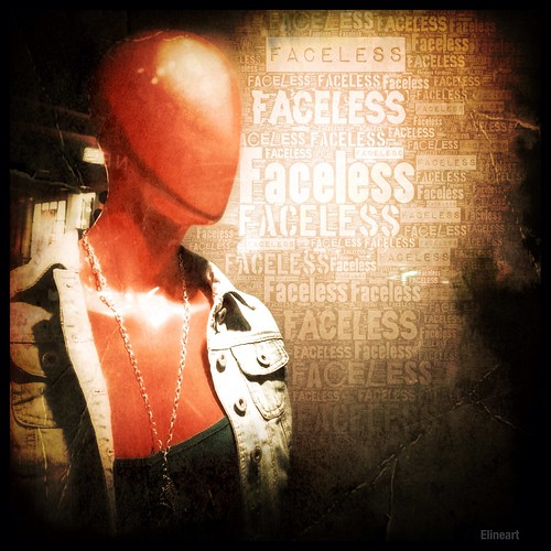 294/365- Faceless by elineart