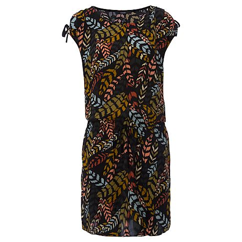Feather Tribal Print Dress