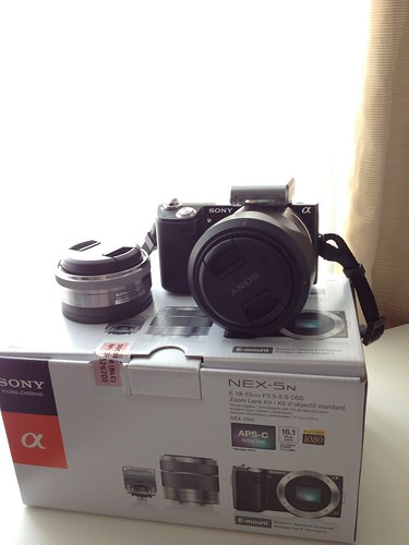 Sony Nex-5n dual lens package
