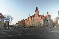 Timelaps of Leipzig Town Hall