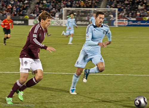 Wells Thompson Colorado Rapids by Corbin Elliott Photography, Denver Photographer