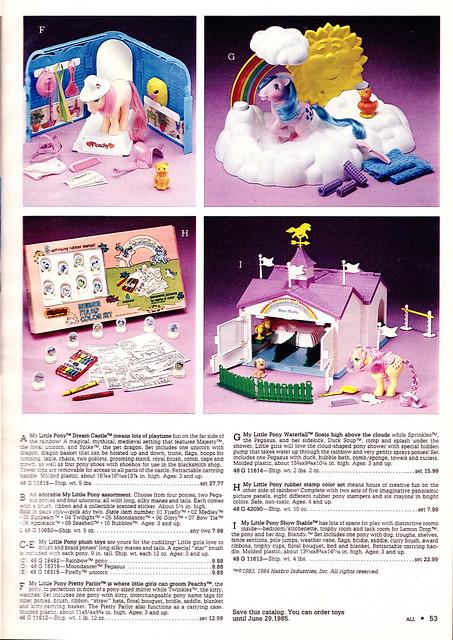 Mon Petit Poney (HASBRO) 1982 - 1994 6239992802_7c873ebf74_z