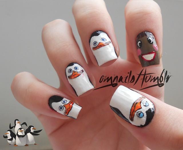 Madagascar - The penguins bt OH MY NAILS