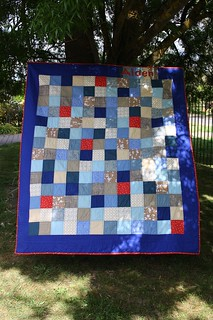 Finished - Dead Simple QAL aka Aiden's Quilt