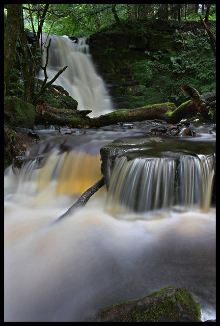 Waterfall on nant y fawnog