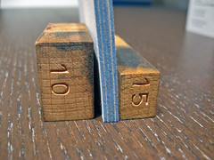 Steel Blue Edge Coloring - Letterpress Cards