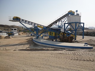 Air classifier and conveyors