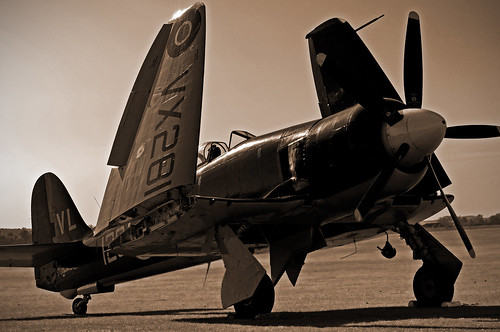 Hawker Sea Fury..
