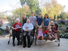 Mom and Dad with Grandchildren