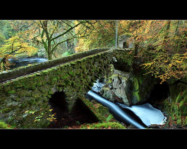 Hermitage Bridge Downriver