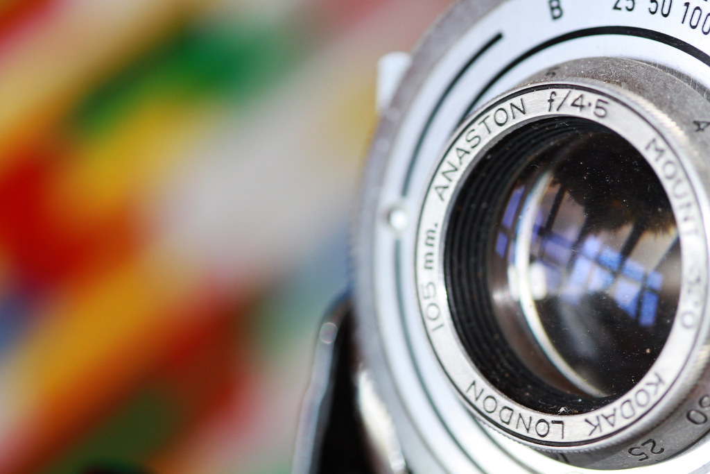 Dusty old camera