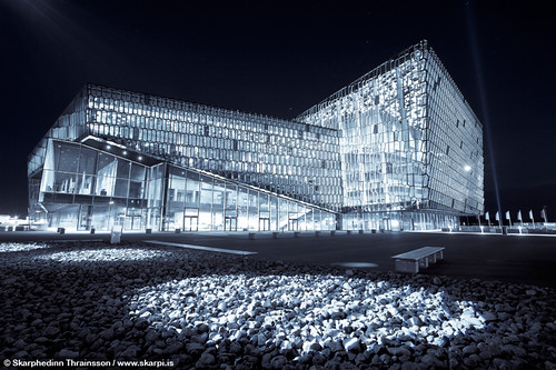 Harpa Concert Hall and Conference Center - Reykjavík Iceland