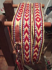 inkle loom sami band
