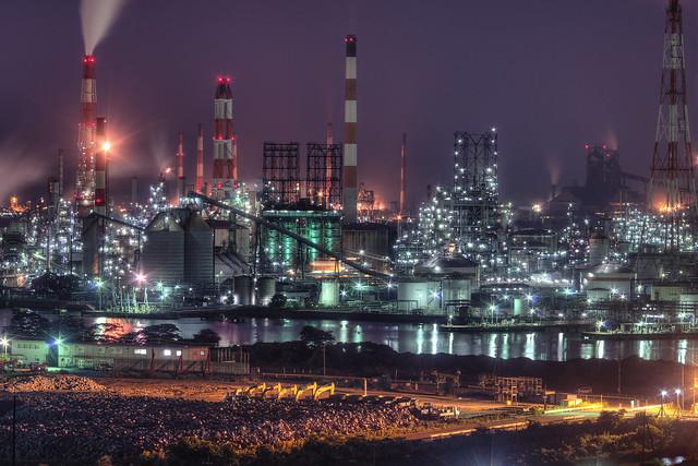 Японский завод