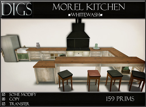 DIGS - Morel Kitchen - Whitewash