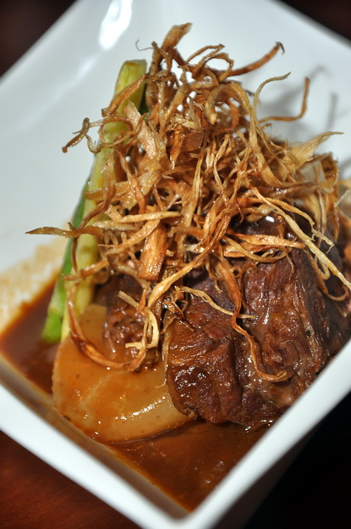 Tenderly Braised Ox Cheek Meat with Special blended Sauce
