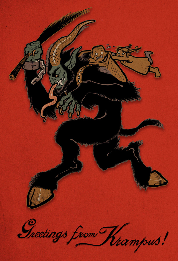 krampus postcard2011sm