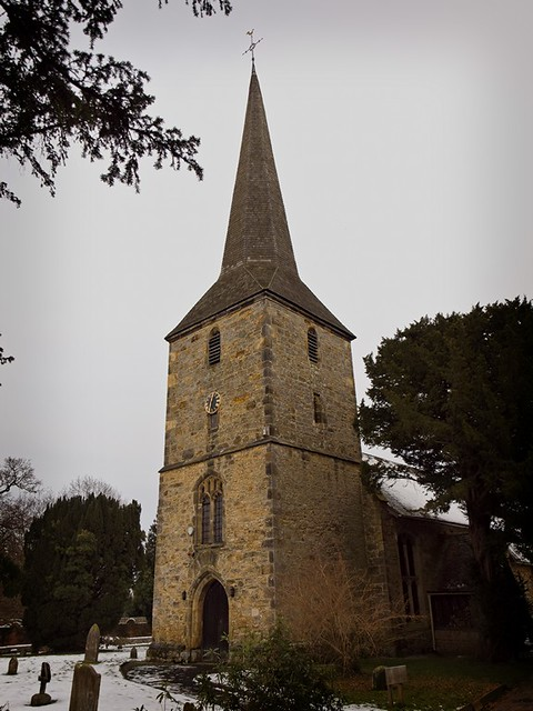 St Peter Church in Hever