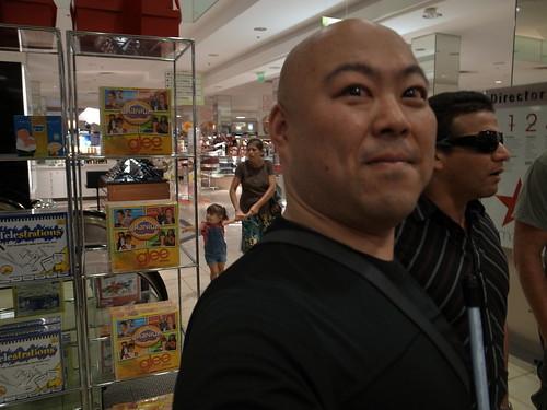 Juan and me at Macy's