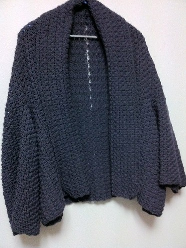 Crochet Cardigan by Garyou