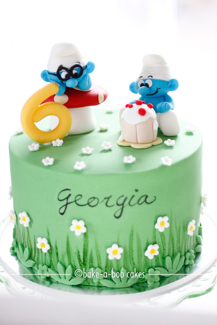 Smurfs Cake Design A Gallery On Flickr