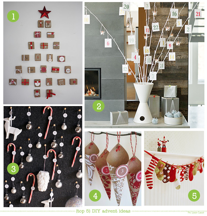 Diy advent calendar craft ideas for Diy christmas advent calendar ideas