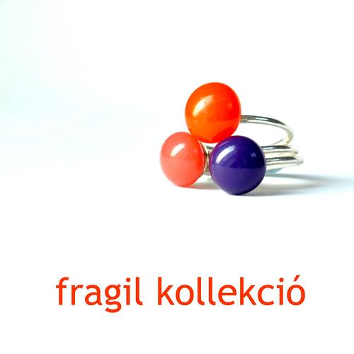 panyizsuzsi ezüst gyűrű, fragil