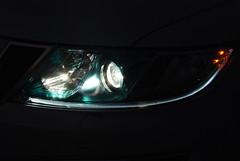 Saab 9.4X headlights