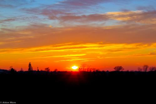 November Sunset by Aidan M.D. Ware