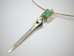 Pendant In Green 2