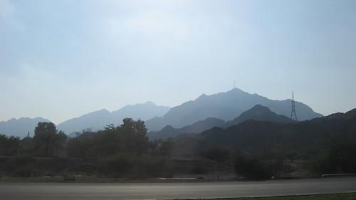 Mountains Near East Coast