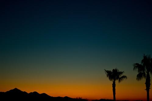 mountain sunrise ambientlight phoenixarizona desertpalms canont2i