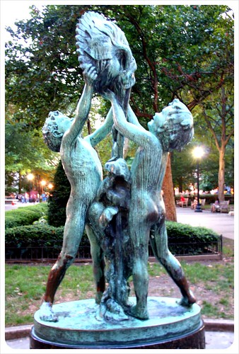 rittenhouse square sculpture
