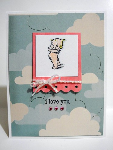 i love you Kewpie card