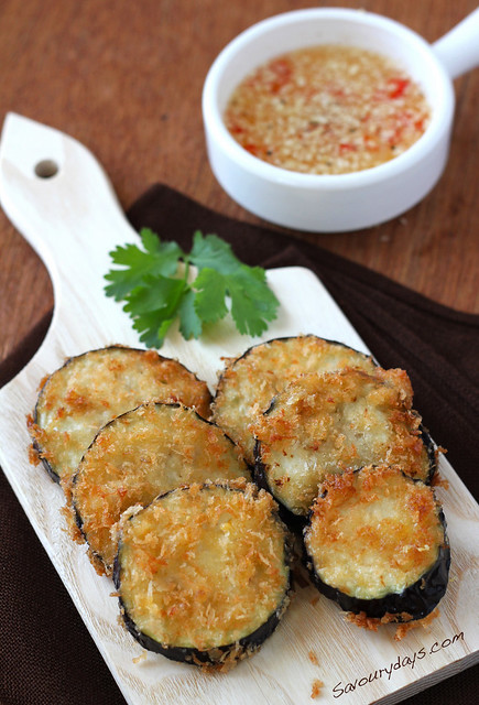 Crispy Fried Eggplant
