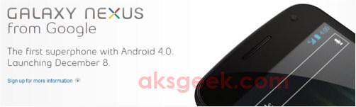 Galaxy Nexus coming to Canada via Bell and Virgin Mobile