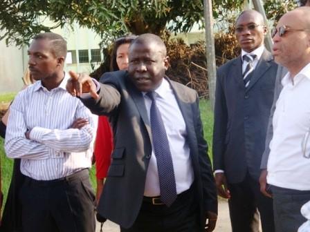 Visite des Architectes sur le site de l\'Université d\'Abobo-Adjamé